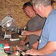 Greg & Dad Seasoning