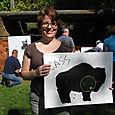 Cass with Buffalo